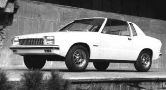 Och ett förslag från Ghia, 1976.