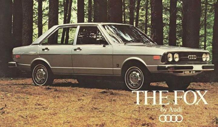 Audi 80 hette Fox, visst lät det mycket tuffare?