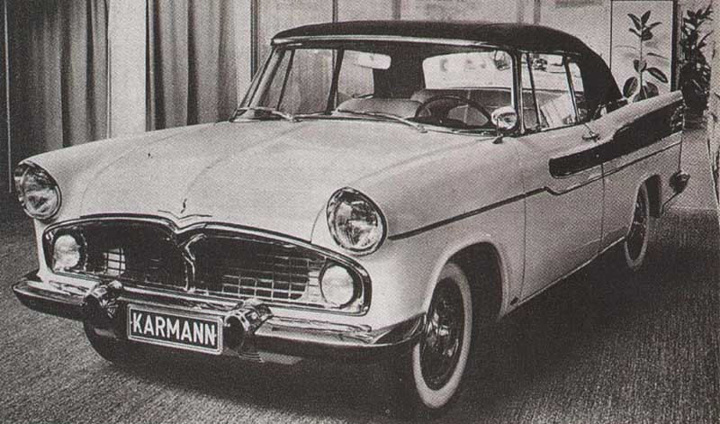 En Simca Vedette cabriolet hade ju varit nåt, tyckte Karmann och byggde en.