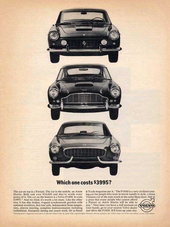 I Usa var man tuff i marknadsföringen för den svenska helyllesportbilen.