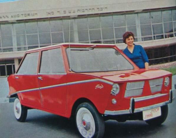Bilindustri i Israel fick aldrig någon fart. Illin i Haifa byggde en del modeller på licens, och Autocars hade börjat bygga en egen bil.  Yitzhak Shubinsky från Autocars ville få fram en billig folkbil byggd på inhemska delar, i samarbete med Illin.  Det gick inget vidare med TA-6 Amamit.