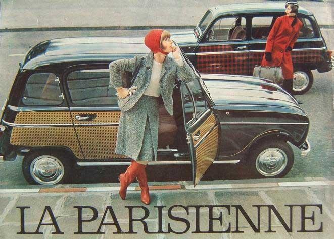 Parisienne kom 1963 och fick den enkla fyran att se mycket elegant ut. Så kostade den också 300 franc mer än finbilen R4L Super.