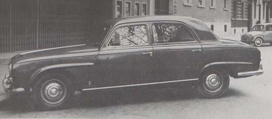Så kunde Peugeot 403 sett ut om Pininfarina fått tycka till om den.