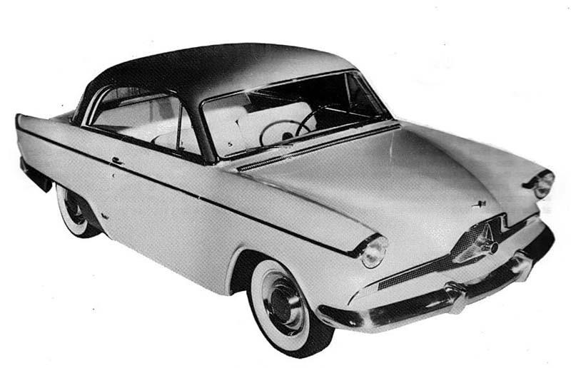 Ett förslag till nytt ansikte på Willys Aero 1953...