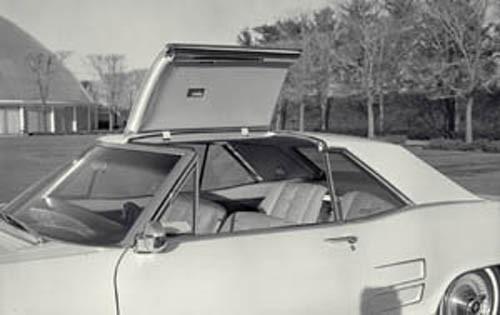 Targatak på Buick Riviera kom aldrig i produktion.