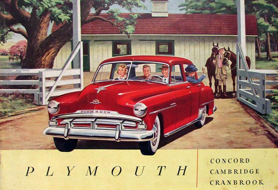 Plymouths enklaste modell bytte namn från De Luxe till Concord. Det var en kortlivad modell som bara fanns 1951-52.  På den här tiden var Concord en stad i Massachusetts.