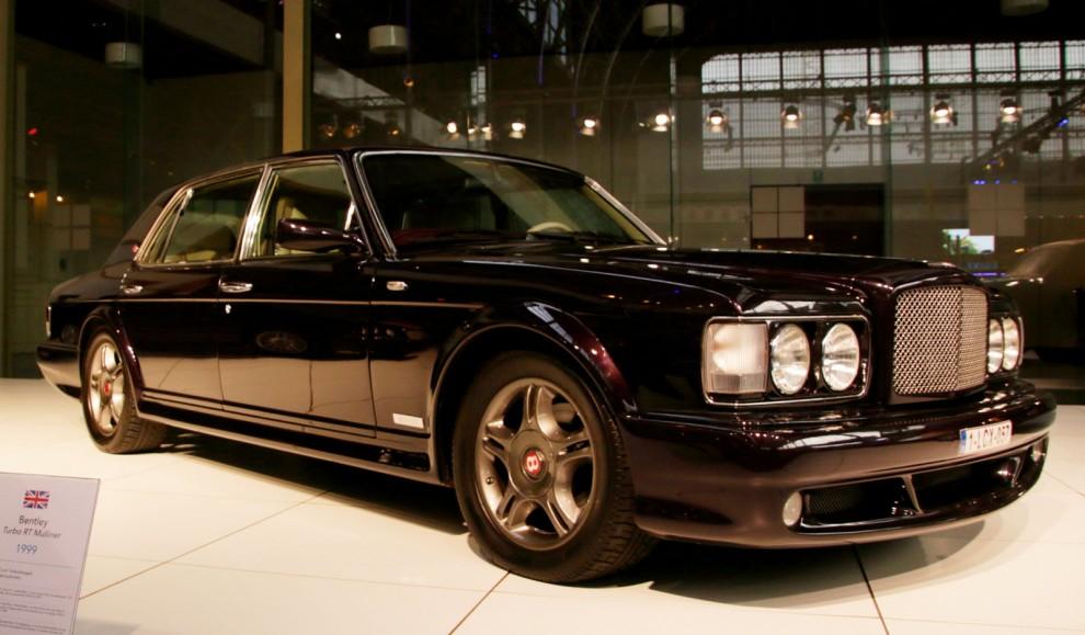 Turbo R blev Bentleys stora succé på 80 och 90-talet. Men just det här är en Turbo RT Mulliner, av dom gjordes bara 56 stycken.
