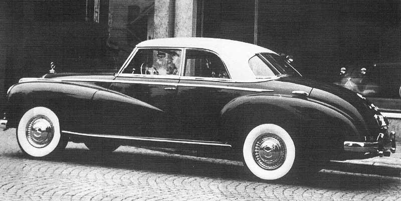 Vi börjar med en vacker coupé från Wendler 1952.