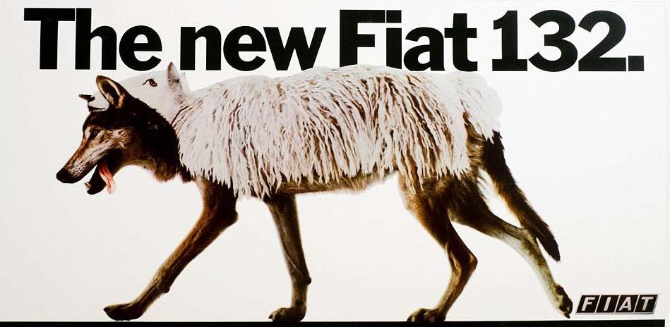 Som en ulv i fårakläder ansåg man Fiat 132 vara