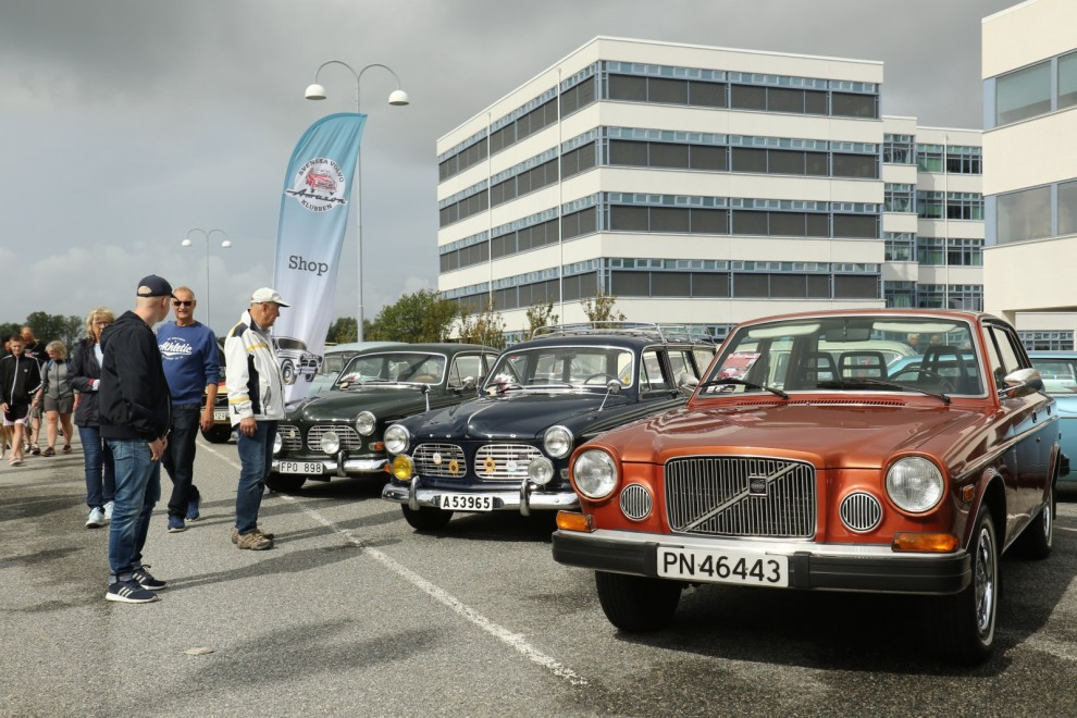 Volvon som inte såldes vare sig i Norge eller Sverige –Volvo 164 årsmodell 1975!