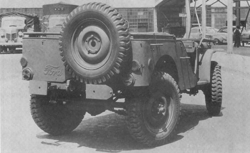 Fyrhjulsstyrning är inget nytt.  Det provades bland annat ut på Ford GP 1941. Man försåg 40 Jeep med denna finess.
