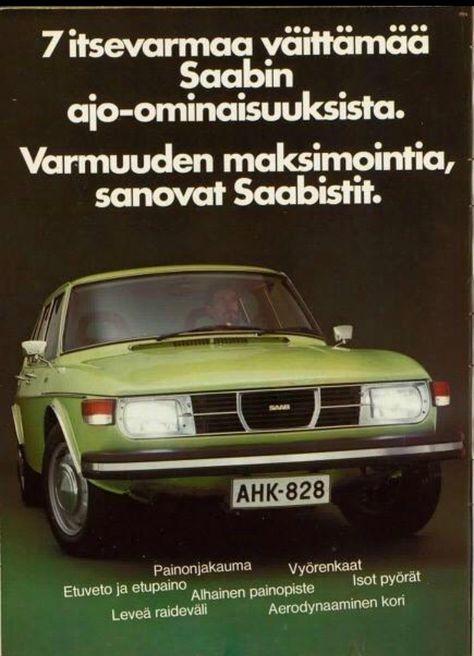 Saab 99 Finland