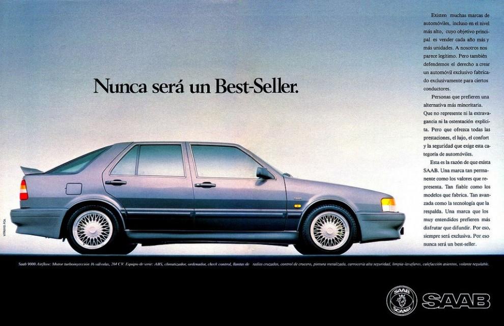 Saab 9000, Spanien