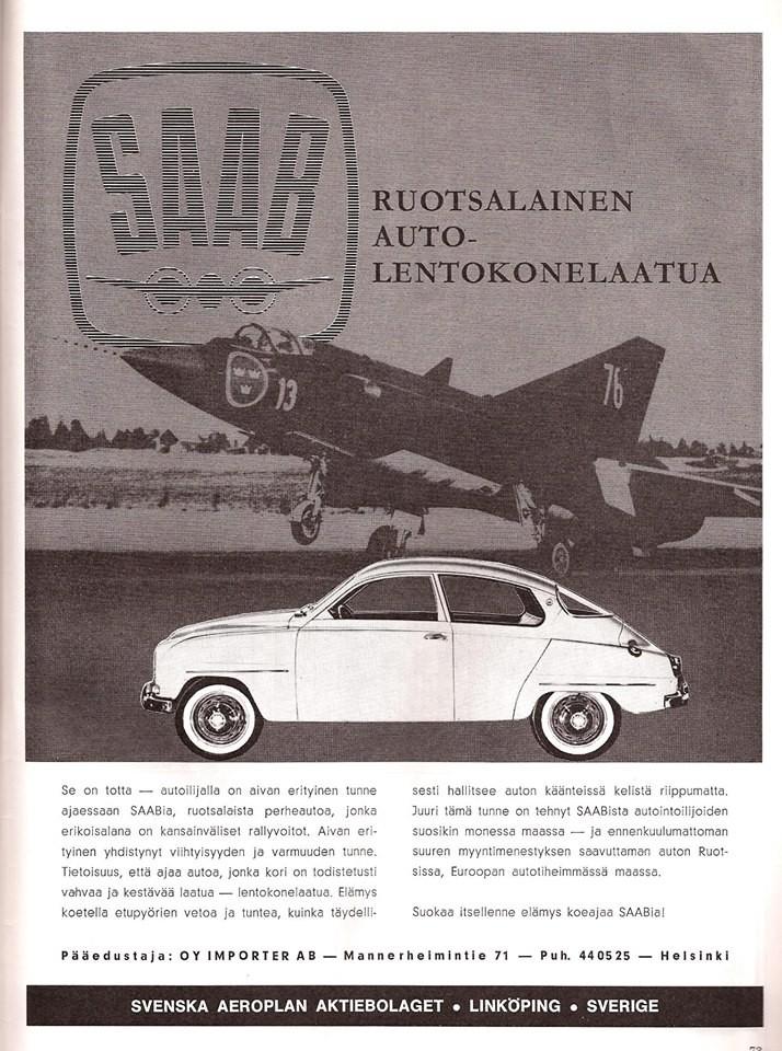 Saab 96 Finland