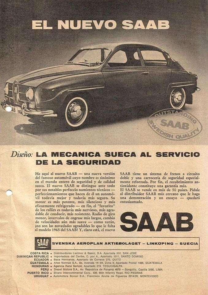Saab 96 för Sydamerika