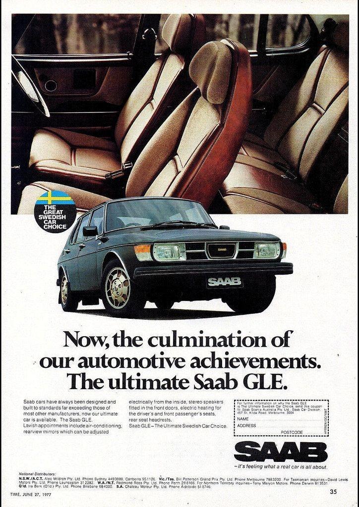 SAAB GLE, Australien 1977