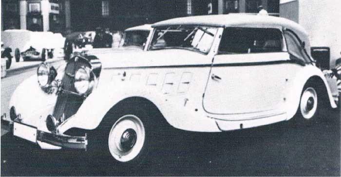 1934, en Röhr type FK Olympier med kaross från Authenrieth
