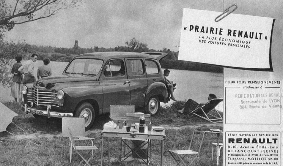 Prairie var en rymlig utflyktsbil, gjordes åren 1950-57