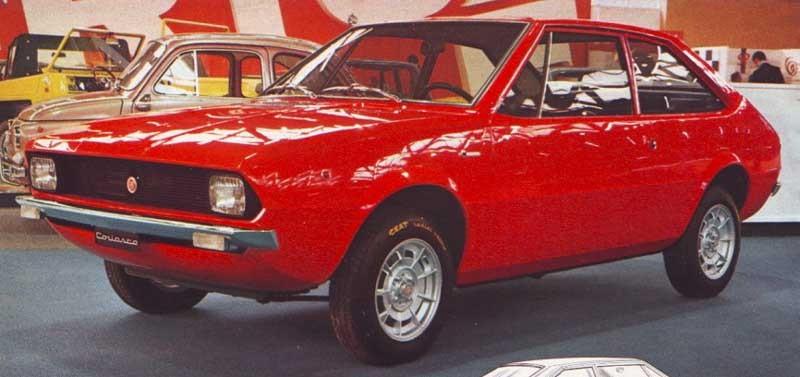 Kanppt hade 127:orna börjat rulla av bandet förrän Coriasco fick tag i en och gjorde en snygg coupé på.