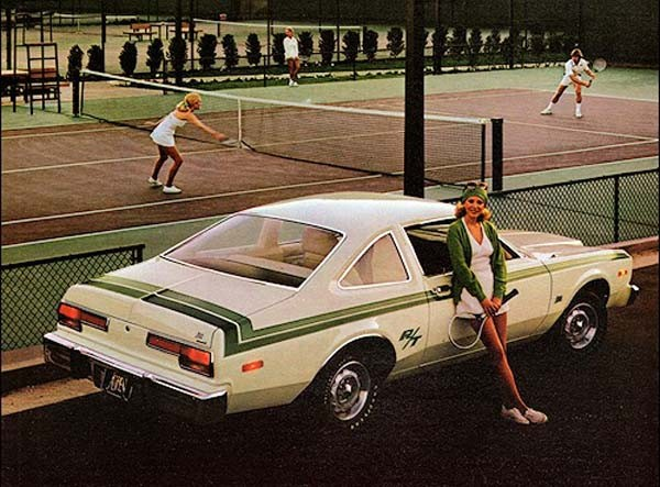 Dodge Aspen R/T - sjuttiotalsstripes och matchande pannband