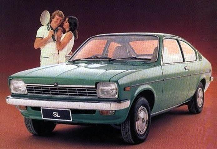 Det ser nästan ut som en Opel Kadett men har ett lite rörigt släktträd. En Isuzu som i Australien blev Holden Gemini.