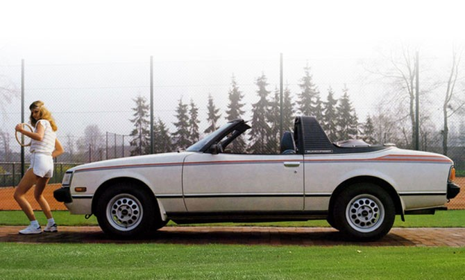 Sunchaser kallades cabrioleten av Toyota Celica. Byggdes om i USA av Griffiith company.