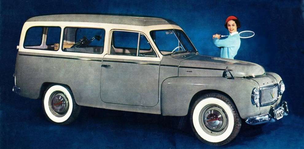 Volvo Duett med swing.