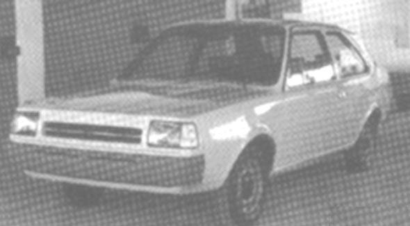 Ungefär så här långt kom Daf med projekt P900 innan Volvo tog över ruljansen och gjorde 343 utan den.