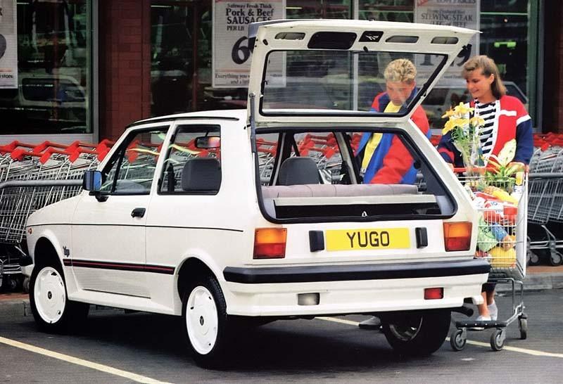 Yugo 55 lanserades som en hipp trendig innebil i USA. Den levde inte riktigt upp till det ryktet.