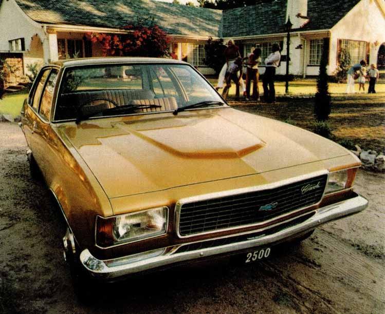 I Sydafrika hette den Chevrolet 2500 med fyrcylindrig motor.