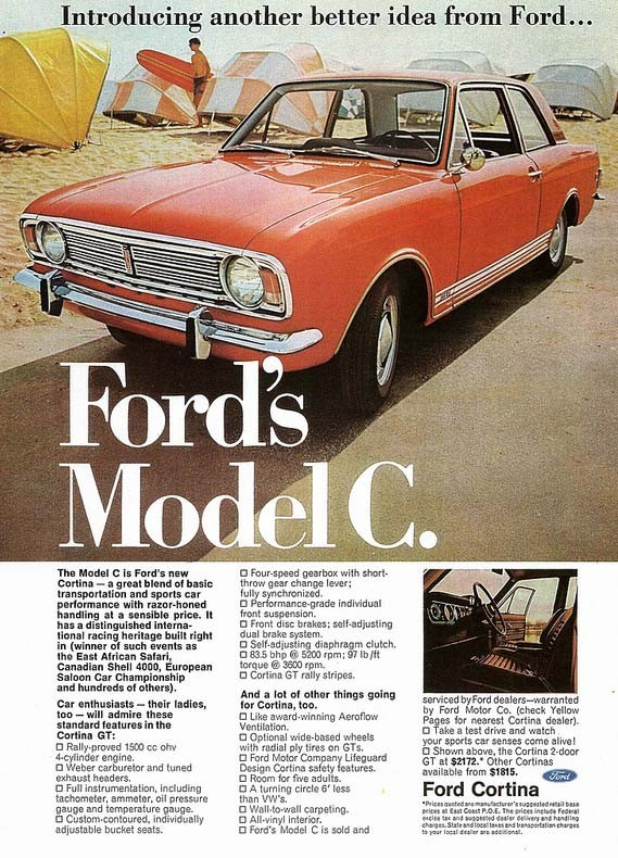 Ford Cortina GT 1967