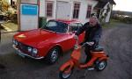 Bildspel: Vättern runt i Alfa Romeo