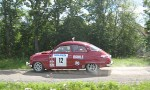 Bildspel: Klassiska rallybilar intog Almunge