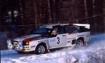 Bildspel: Quattro och WRC-förare till Klassikersprinten!