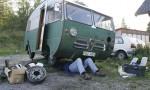 Bildspel: Husbilen bommar besiktningen