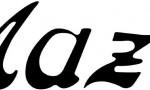 BILDSPEL: Mazdas logo 90 år_admin