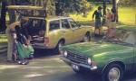På green med Ford