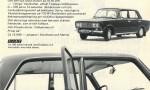Bilannonser från slutet av 1960-talet