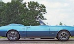 blåa bilar