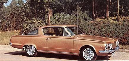 Grattis Plymouth Barracuda!
