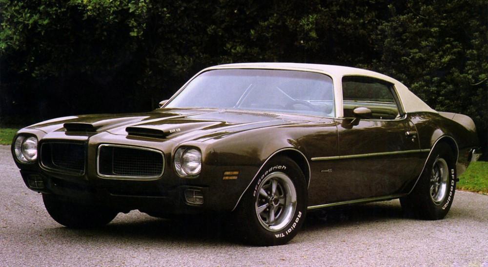Grattis Pontiac Firebird!