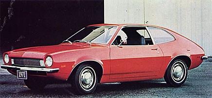 Grattis Ford Pinto!