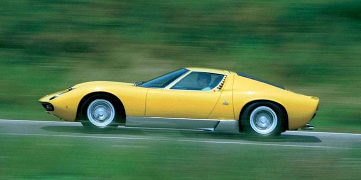 Grattis Lamborghini Miura!