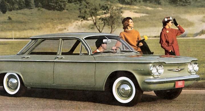 Grattis Chevrolet Corvair!