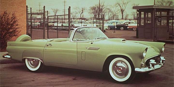 Grattis Ford Thunderbird!