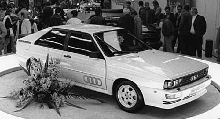 Grattis Audi Quattro!