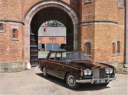 Grattis Rolls-Royce Silver Shadow!