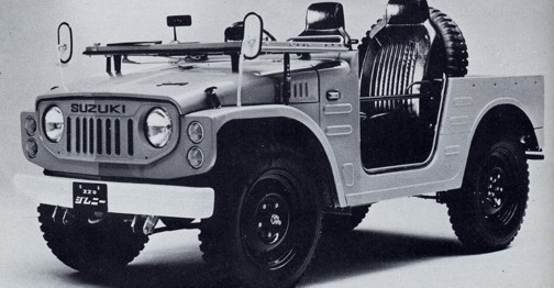 Grattis Suzuki Jimny!