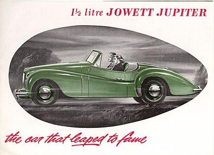 Grattis Jowett Jupiter!