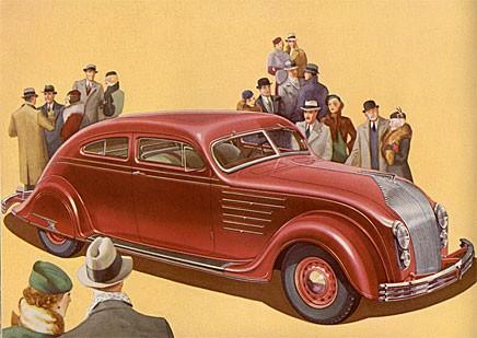 Grattis Chrysler Airflow!